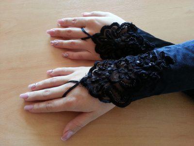 Rękawiczki gotyckie