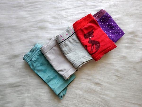 Bokserki w różnych wzorach i kolorach
