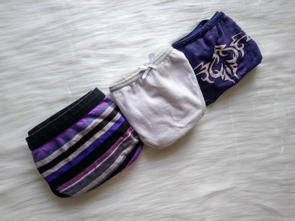 Klasyczne majtki - różne wzory i kolory