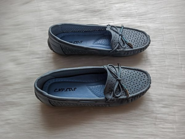 Błękitne buciki